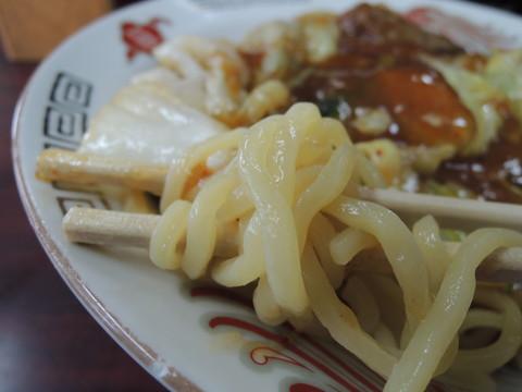 スタミナ冷し普通の麺