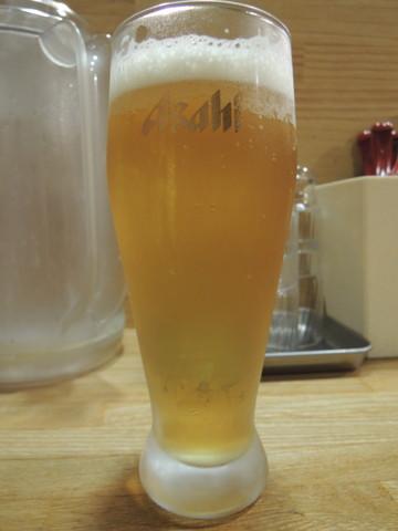 生ビール(300円)