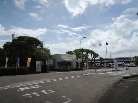 宮崎中央卸売市場の入口