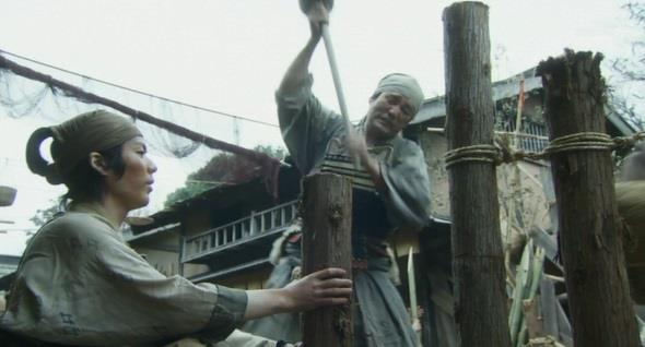上田城工事 真田丸
