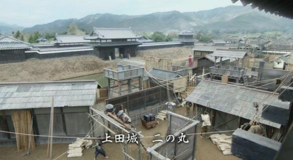 迷路の様に入り組んだ作りの上田城二の丸 真田丸