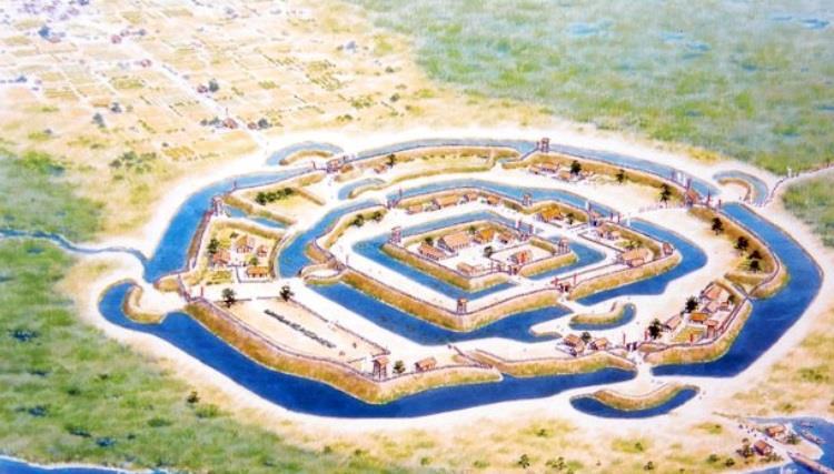 お城の区画