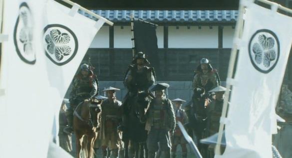 昌幸の本隊も旗には家紋が入ってません 真田丸