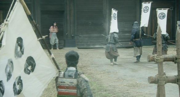 敵に囲まれて死にそうになった梅ちゃん 真田丸