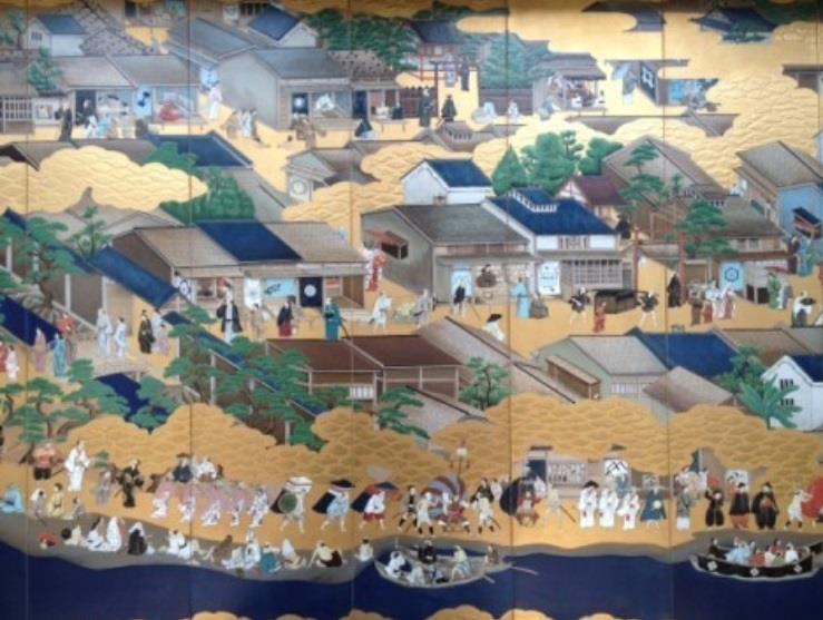 堺は貿易の窓口として世界に知られた貿易港