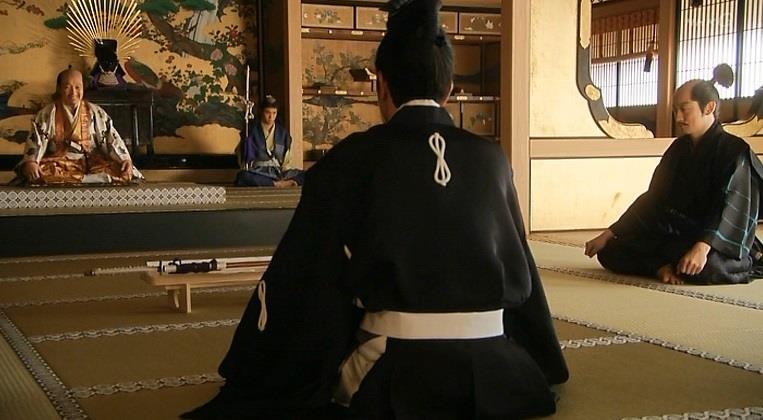 秀吉は上杉景勝の官職を勝手に代理で貰いました。 真田丸