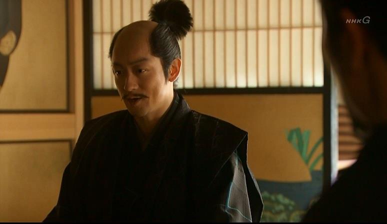 「上杉様には、従四位下左近衛権少将(じゅしいのげさこのえごんのしょうしょう))が授けられることになっております」石田三成 真田丸