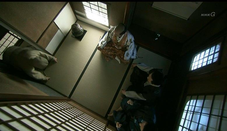 茶室を上から 真田丸