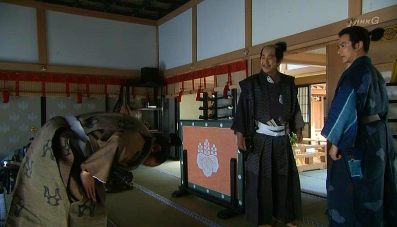 「片桐様。わざわざ足をお運びいただいて、ありがとうございました」平野長泰 真田丸