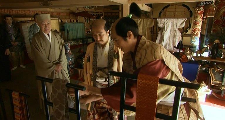 「こちらはルソンの麻でございますかな・・・」羽柴秀次 真田丸