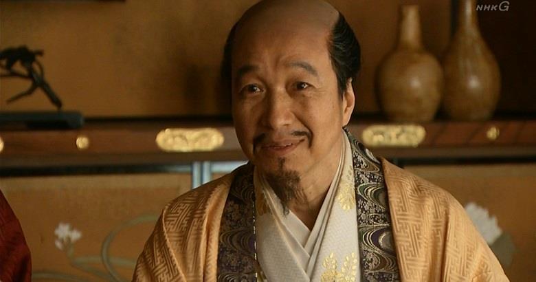 秀吉も鼻の下が伸びています(笑) 真田丸