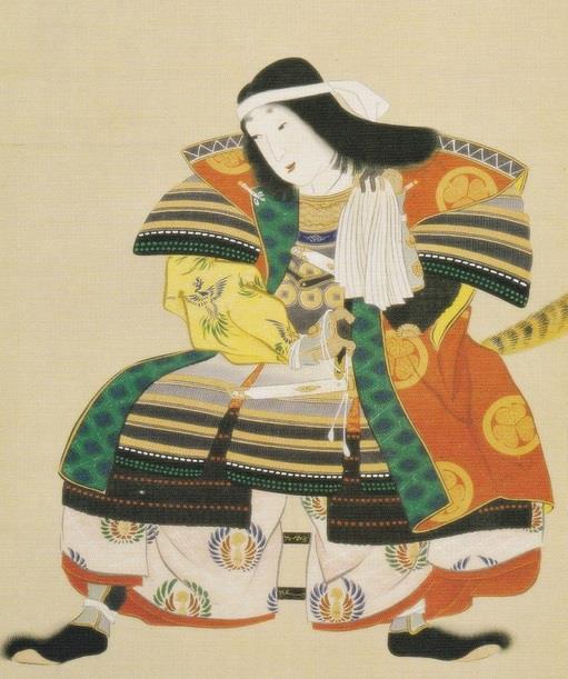稲姫の肖像画