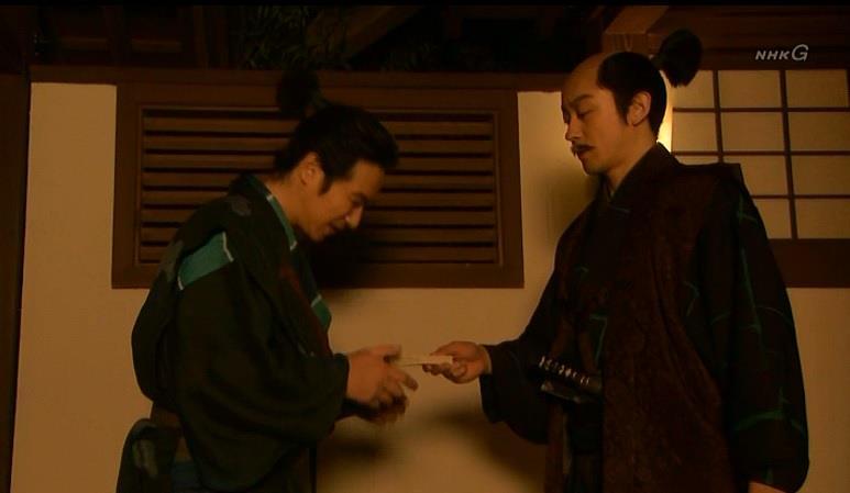 「どうしても真田に届けたい文なら、もう少し上手くやれ」石田三成 真田丸