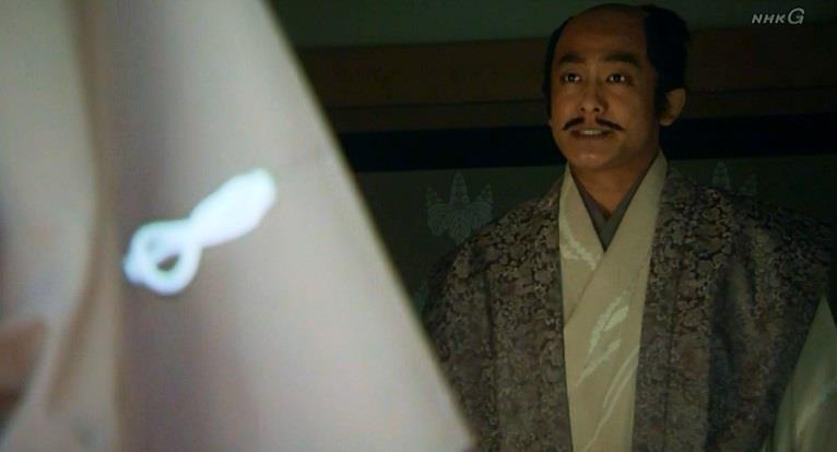「上田城で僅か2000の手勢で、7000の徳川を迎え撃ったご武力、楠木正成の再来とも言われる、そのご尊顔、一度拝したく思っておりました」大谷吉継 真田丸