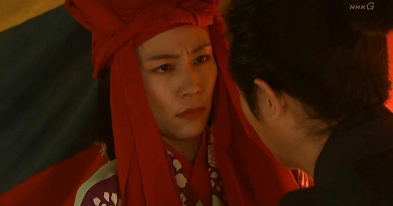 怪訝そうなまつさん 真田丸