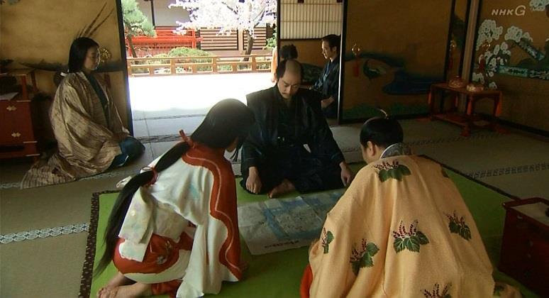 「これが今、京に普請中の聚楽第でございます」石田三成 真田丸