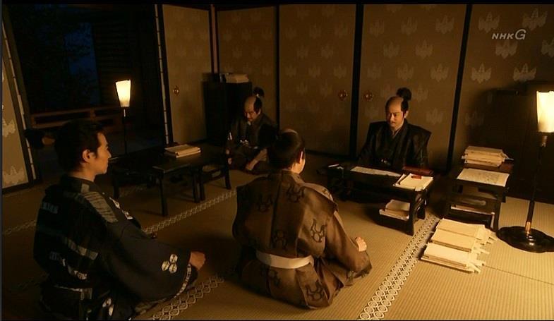 「茶々さまのご懐妊は既に知れ渡っている。石清水八幡に安産祈願をしたことが漏れたらしい」石田三成 真田丸