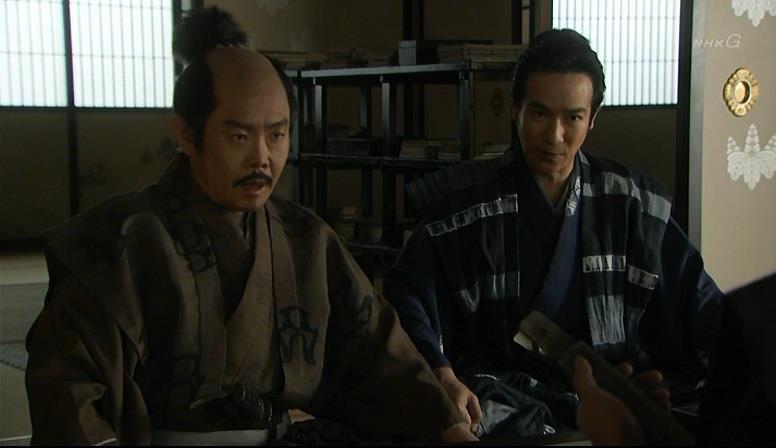 「尾藤道休(びとうどうきゅう)、だらしない男で、先日は御役目の最中にこっそり酒を飲んでいたそうです」真田信繁 真田丸