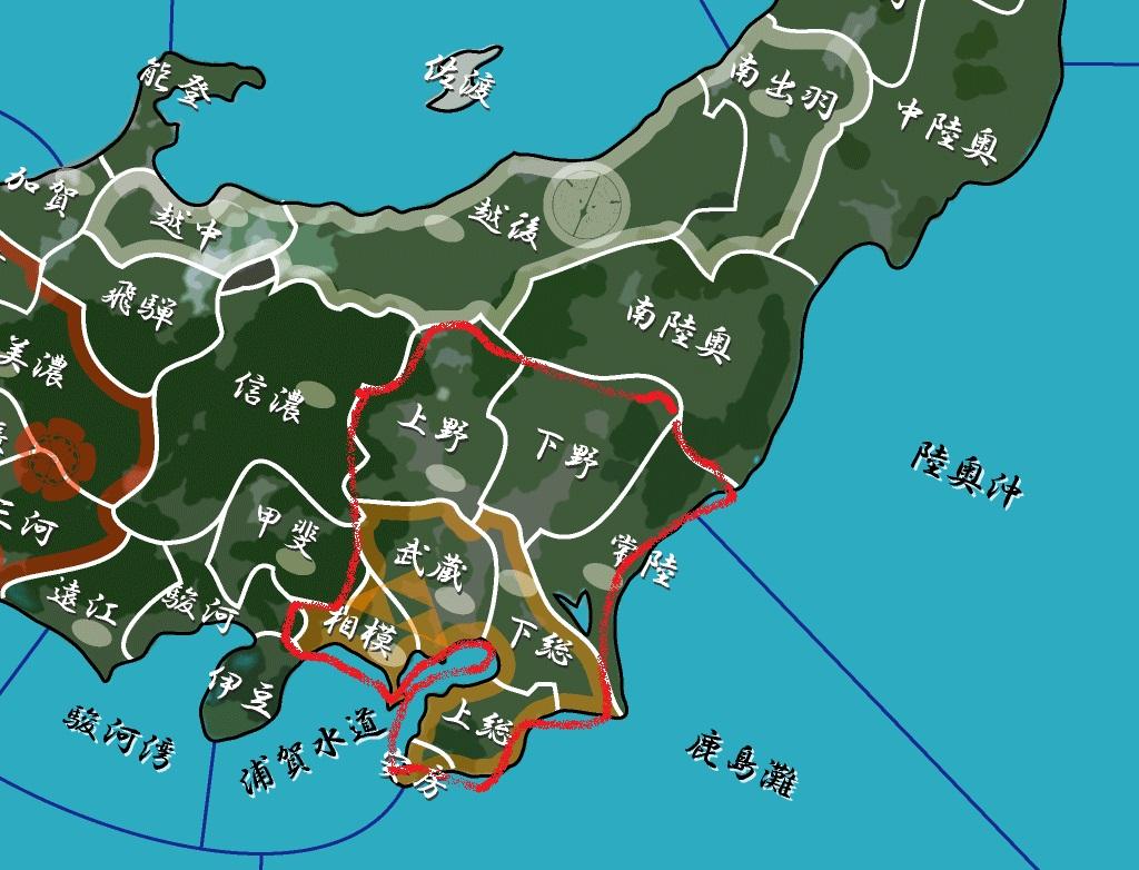 関八州 地図