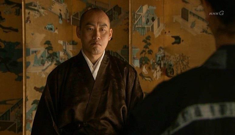 沼田城の一件を話し合うために、板部岡江雪斎が京都に 真田丸