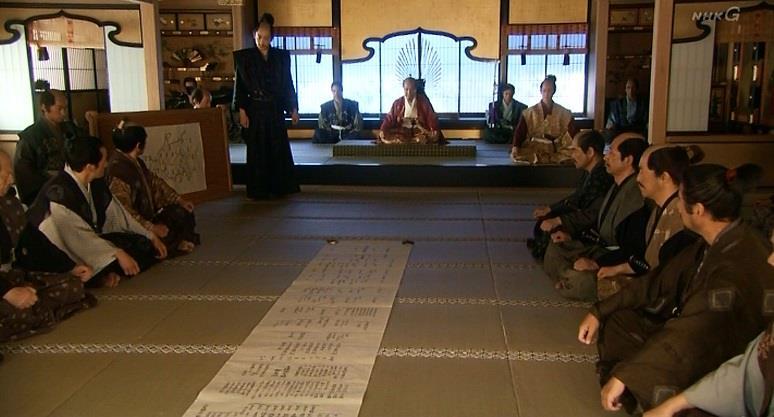 「それゆえ、こたびはと、前置きしたのでござる」石田三成 真田丸