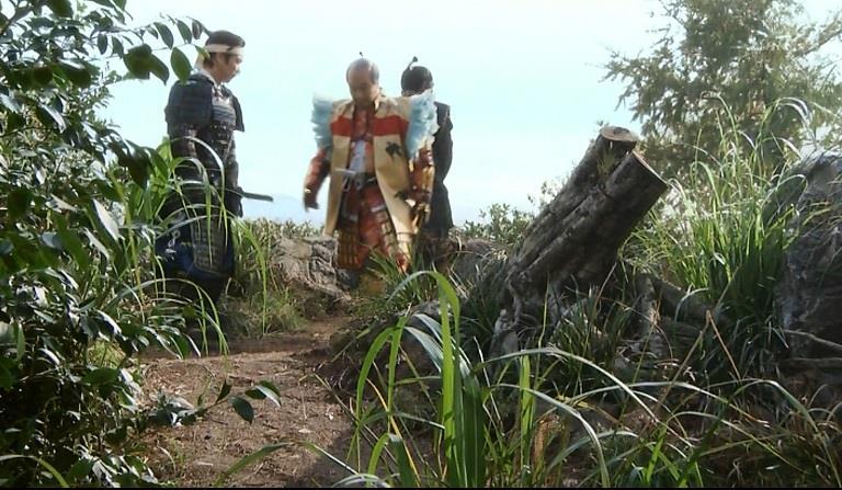 豊臣秀吉が徳川家康を誘い立ち小便。それを護衛する真田信繁 真田丸