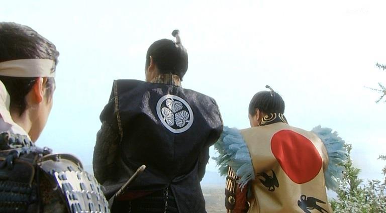 徳川家康と豊臣秀吉の関東の連れ小便 それを護衛する真田信繁 真田丸