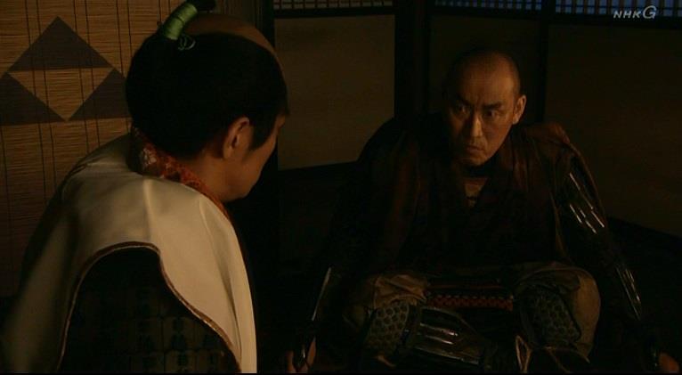 板部岡江雪斎と北条氏直 真田丸