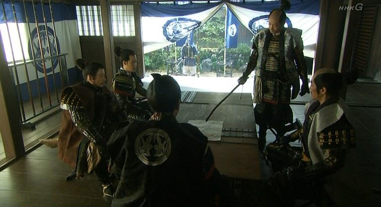 「忍城はこの辺りでもっとも低い場所にある」石田三成・軍議 真田丸