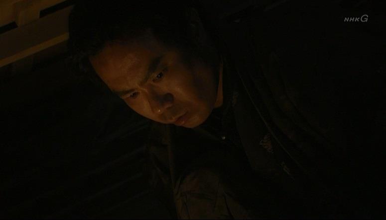 屋根裏からみる佐助 真田丸