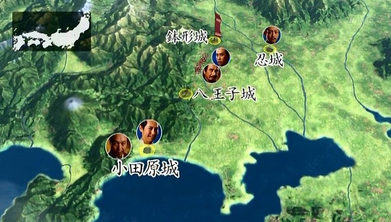 地図 小田原城 真田丸