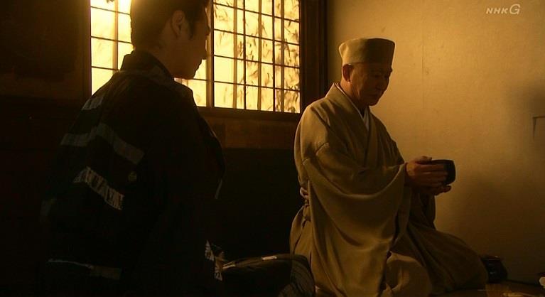 「どうぞ、利休の業がたてた茶、味おうてくだされ」千利休 真田丸