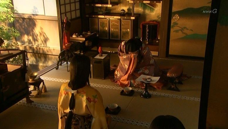 薫と稲 真田丸