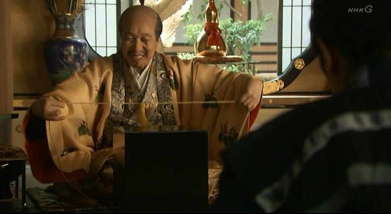「またルソンからいろいろ珍しい品をもって帰りおった」豊臣秀吉 真田丸