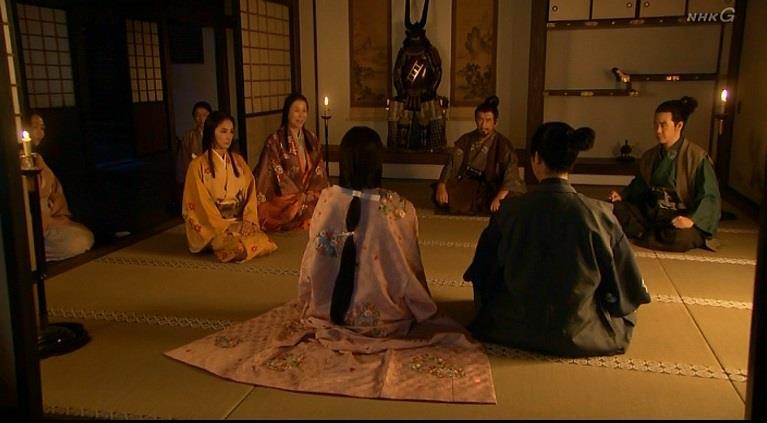 「源次郎、まことに良き嫁御を頂きましたね」薫 真田丸