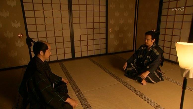 「お歳をめされて、めっきりお髭が薄くなり、先月から付け髭にされた」石田三成 真田丸