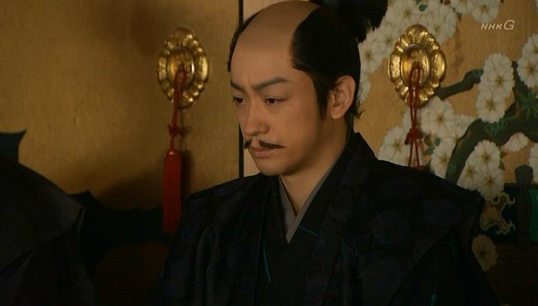 石田三成の表情も曇ります 真田丸