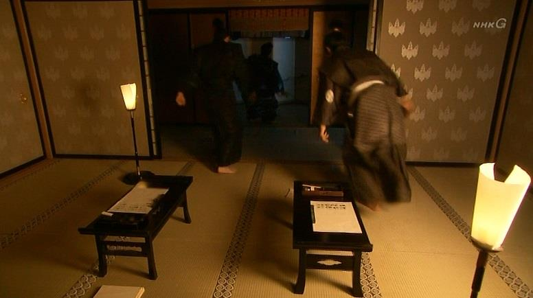 家来たちが慌てて駆けつける 真田丸
