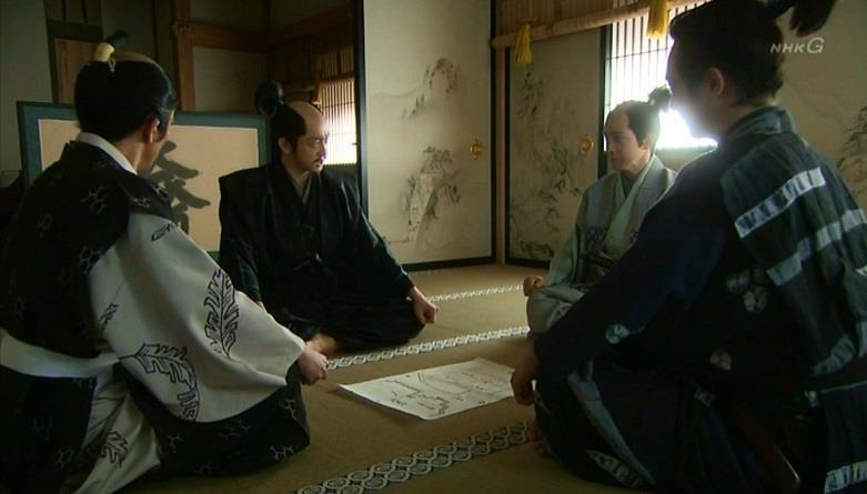 「金吾様は私が戻るまでの間、毛利様をご説得いただきたい」石田三成 真田丸