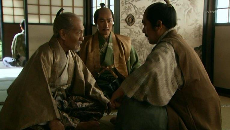 前田利家と徳川家康 真田丸