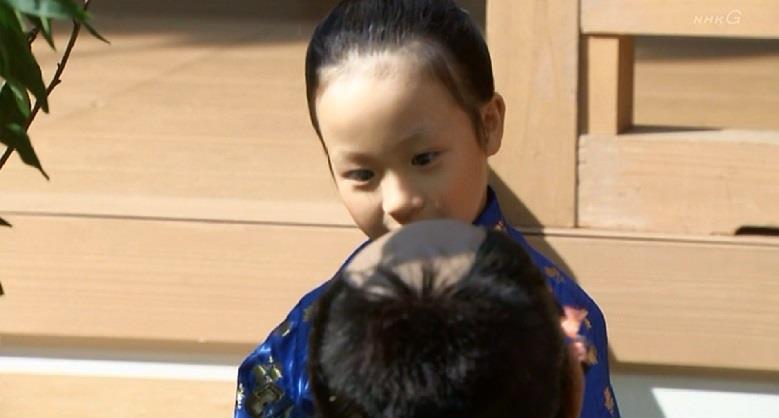 7歳の豊臣秀頼 真田丸