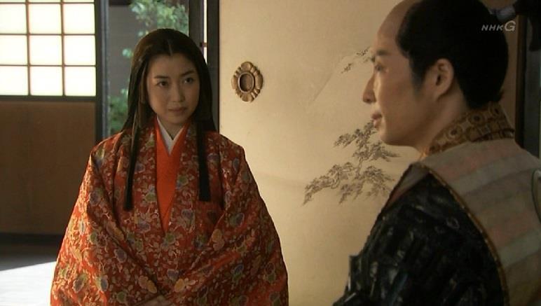 「お前様、お心をしっかりとお持ちくださいませ」江 真田丸