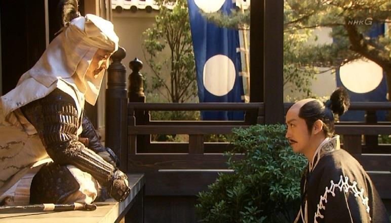 「五奉行は内府(だいふ)の策略で三人となり、利家様亡き後の前田家はすっかり骨抜きにされました」石田三成 真田丸