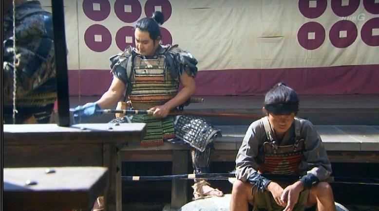 久々に登場の堀田作兵衛と与八 真田丸