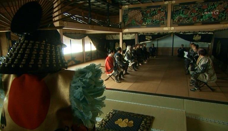 「そして速やかに、諸大名の妻子を人質として大阪城に集めます」石田三成 真田丸