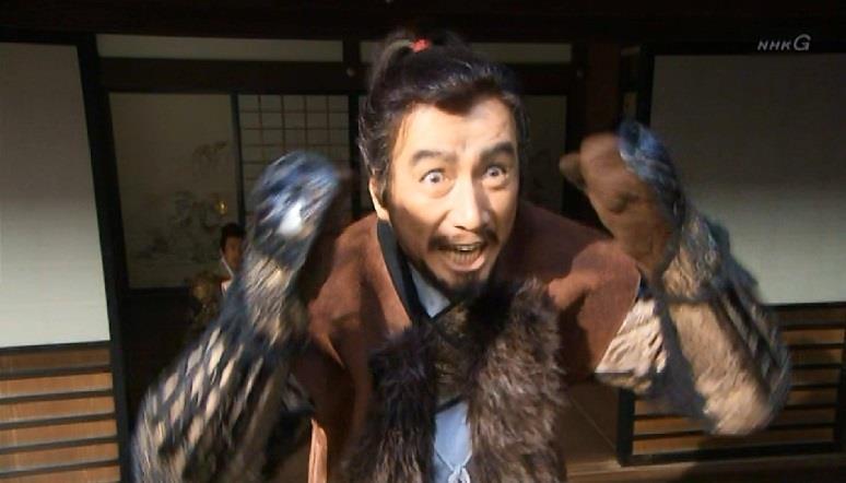 「よっしゃぁぁぁぁ!!!」と喜ぶ真田昌幸 真田丸