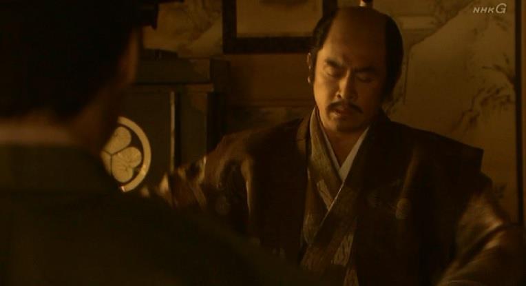 「正信が付いていながら、随分と手間がかかったものだな。城攻めは早すぎたか・・・」徳川家康 真田丸