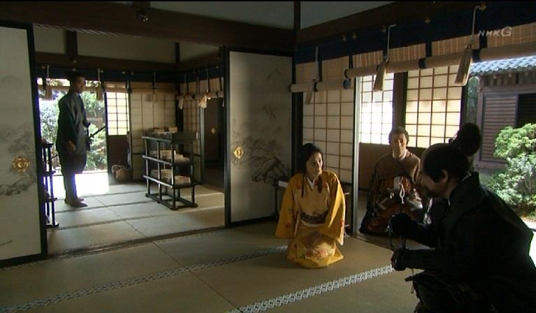 「たった今、大阪から来られたばかりでは・・・」稲姫 真田丸