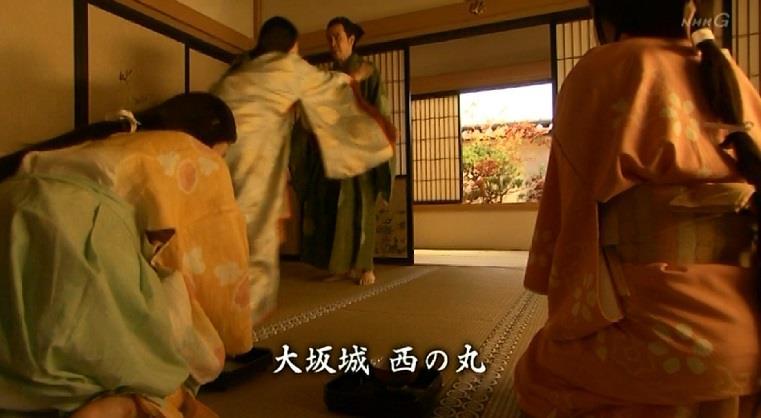 大阪城・西の丸に母・薫を助けに来た信之 真田丸