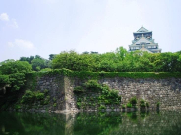 大阪城の堀